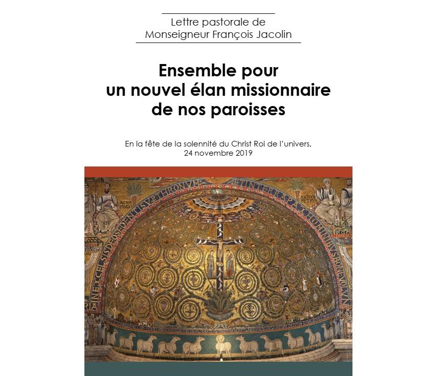 Lettre pastorale de Monseigneur François JACOLIN